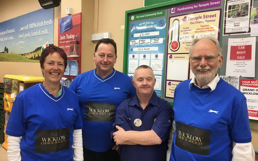 Fundraising – Tesco Bag Pack 30th June 2017